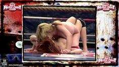 Big Tits Lesbian Wrestlers Mai Bailey And Safira White