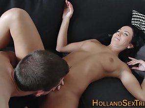 Brunette Hooker Getting Nailed By Stranger For Cash
