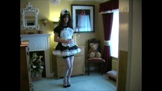 Sissy Maid Dress Up For Mistress