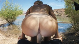 Anal Virgin Fucked At Public Beach – Molly Pills – Hot Outdoor Creampie POV