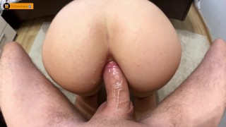 MY FIRST ANAL EVER | ANAL CREAMPIE