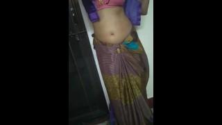 Desi Bhabhi Richa Saree Strip Porn