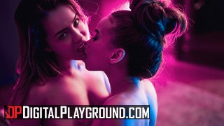 Digital Playground – Freaks Alina Lopez & Cecilia Lion Take Party To The Be