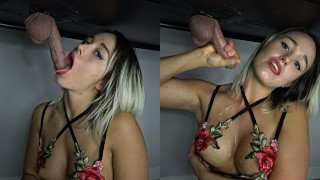Milking A Big Load All Over My Tits