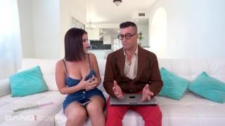 Trickery – Busty Latina Tricks Computer Nerd Into Sex