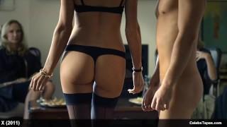 Burnetta Hampson, Hanna Mangan Lawrence & Viva Bianca Nude And Sex Orgy