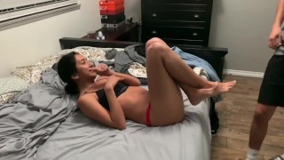 Latina Let's Me Fuck