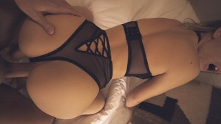 Stepsis Shows Off Lingerie Before I Fuck Her Tight Pussy – Morningpleasure