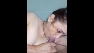 Beautiful Desi Mature Aunty Sucking Dick