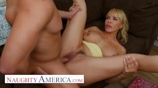 Naughty America – MILF Dana DeArmond Fucks Her Sons Friend