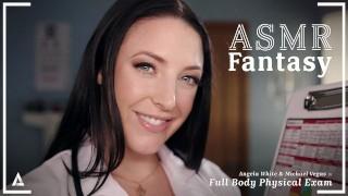 ASMRFantasy – Dr. Angela White Gives Full Body Physical Exam