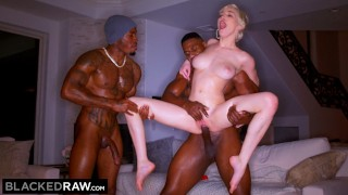 BLACKEDRAW She's Never Had Two BBCs At Once Before