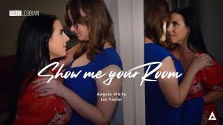 TRUE LESBIAN Suburban Wife Jay Taylor Can't Take Eyes Off Angela White