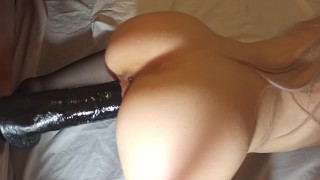 Fit Girl Is Too Horny To Resist A BBC   4K